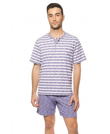 Man Stripes Pyjama Set