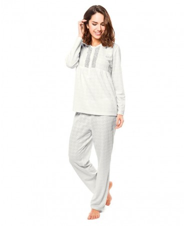 Classic embroidered pyjama Set