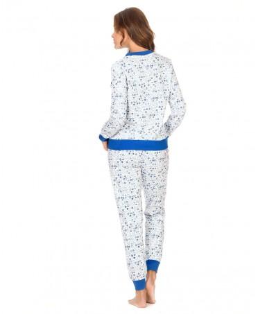 Scrawl print pyjama Set