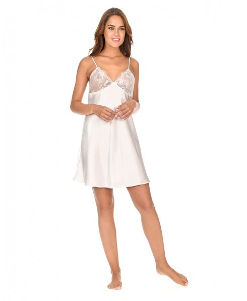 Satin lace nightdress