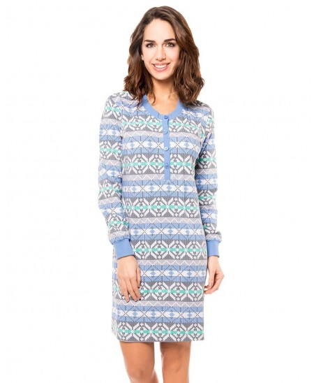 Print pattern nightdress