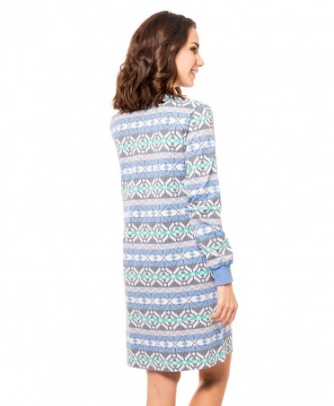 Print pattern nightdress