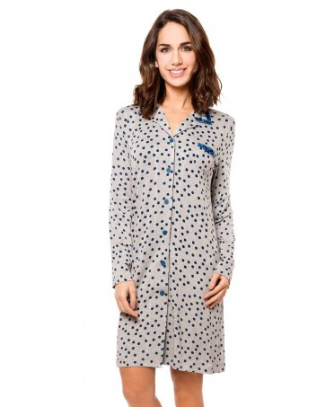 Blue dots  nightdress