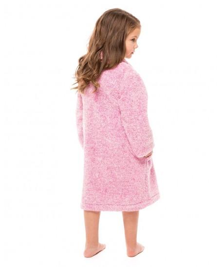 Fuchsia Melange Dressing Gown