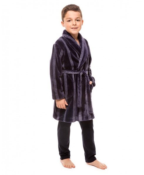 Stripes dresssing Gown