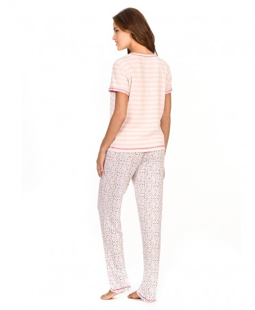 Striped Top Pyjama & Dots Pants