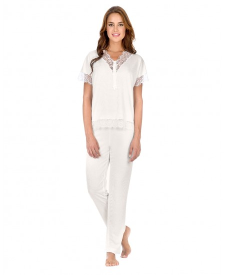 Pijama Lencero M/C