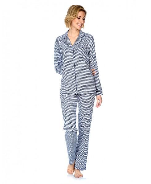 Pijama Rayas Abierto