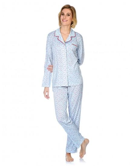 Hearts Printed Pyjama Set