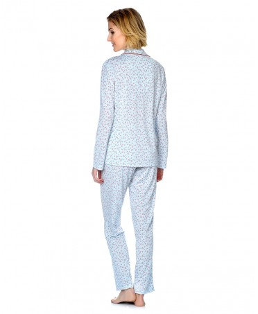Hearts Printed Pyjama Set