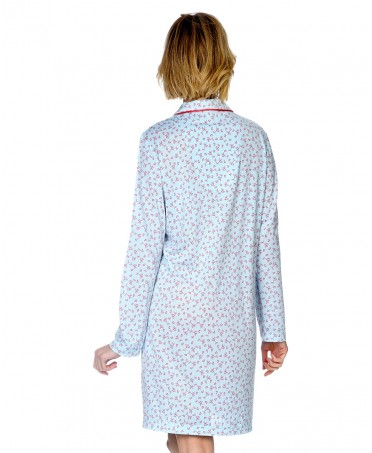 Hearts Printed Nightdress