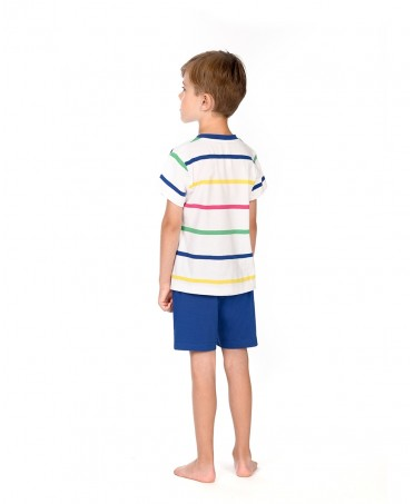 Kids Striped Pyjama Set