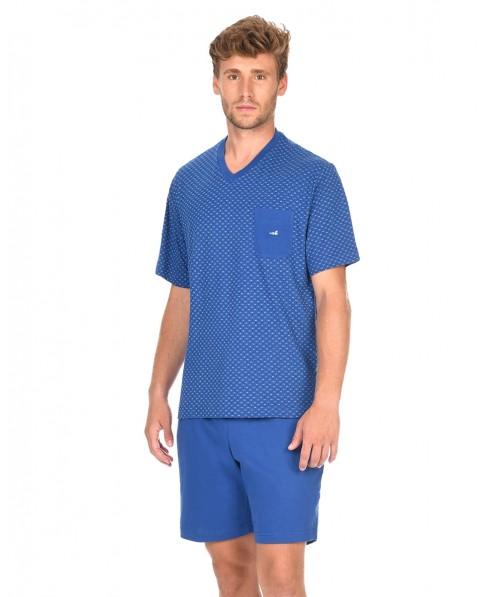 Man Printed Pyjama Set