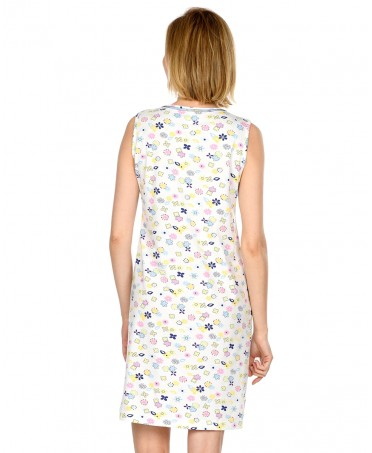 Flowers Printed Nightdress