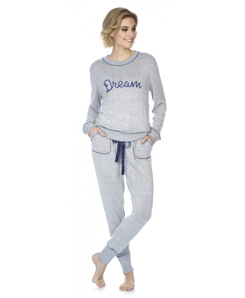 Dream embroidery pyjama set