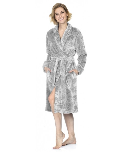 Jacquard Flowers dressing gown
