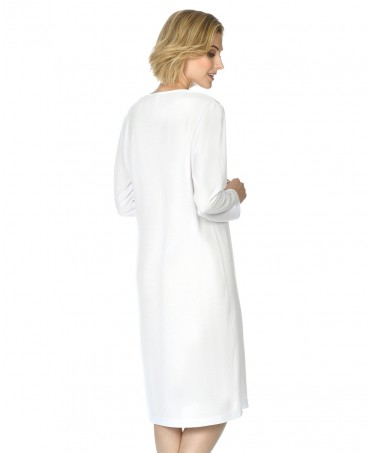 Camisón largo de mujer Lohe lencero lorzas M/L